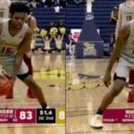 NCAA – La routine de lancer franc dingue de Majesty Brandon