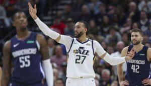 NBA – Le comportement de Rudy Gobert salué au Jazz
