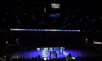 Le vibrant hommage pour Tony Parker, accueilli en héros à Paris