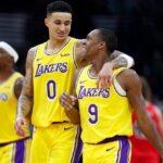 NBA – Kuzma donne les 3 joueurs les plus marrants sur le groupe des Lakers