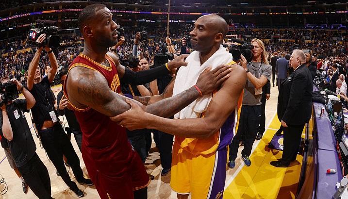 Kobe Bryant envoie un message fort à LeBron James