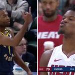 NBA – T.J. Warren craque après son expulsion, Jimmy Butler le provoque salement !