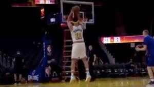 NBA – Headband Klay Thompson de retour sur le parquet du Chase Center