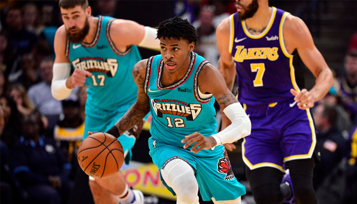 Ja Morant face aux Lakers