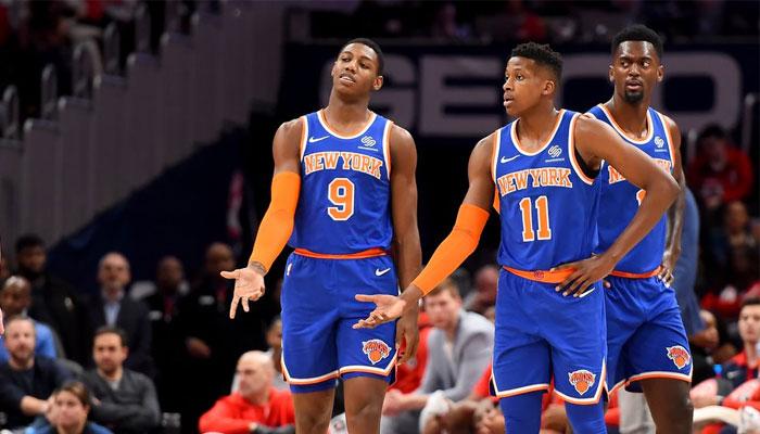 Les Knicks n'ont pas mené une seconde face aux Bucks cette saison