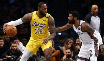 LeBron James attaque sur Kyrie Irving