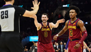 NBA – Kevin Love a pété un câble face au GM, devant coachs et coéquipiers