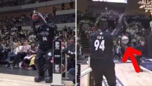 Divers – Un robot participe au concours à 3 points du ASG au Japon, et se ridiculise