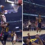 NBA – Le poster assassin de Sekou Doumbouya sur Tristan  Thompson !