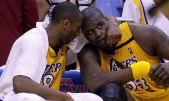 Kobe Bryant et Shaquille O'Neal aux Lakers