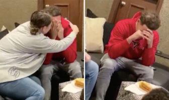 Trae Young en larmes après l'annonce de sa place de titulaire au ALl-Star Game