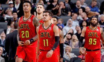 Première All-Time pour les Hawks