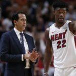 NBA – Le langage NSFW très inhabituel du coach du Heat