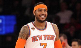 Les Knicks voulaient associer Carmelo Anthony à une autre star en 2015