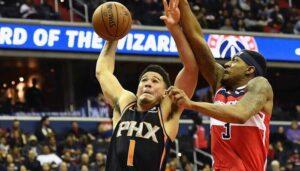 NBA – Malheureuse première depuis 35 ans pour Booker et Beal