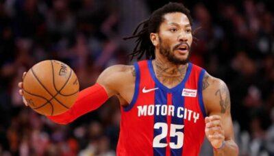 NBA – Derrick Rose envoie un message fort sur son avenir, ses jours à Détroit comptés ?