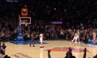 Fin de match folle entre Knicks et Heat