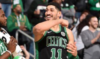 Enes Kanter des Boston Celtics