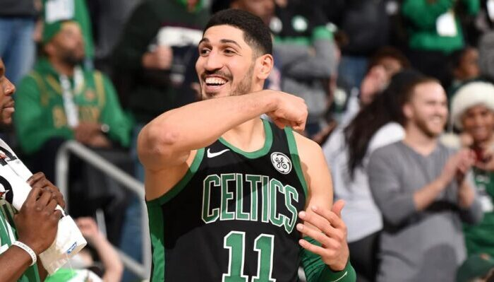 Enes Kanter des Boston Celtics