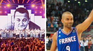 NBA – Hommage à Tony Parker en vue au spectacle des Enfoirés