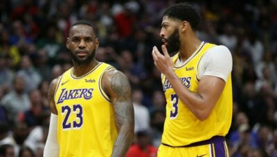 Demande Anthony Davis à LeBron James pendant son absence