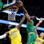 NBA – Jaylen Brown honnête à propos de son poster sur LeBron