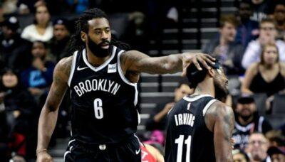 NBA – DeAndre Jordan vient à la rescousse de Kyrie Irving