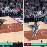 NBA – Accueilli en héros, Ja Morant claque un alley-oop de folie !