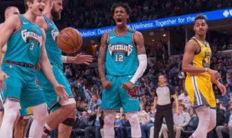 NBA - Ja Morant conclut la victoire des Grizzlies avec un gros dunk