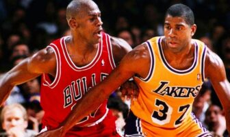 duel entre michael jordan et magic johnson