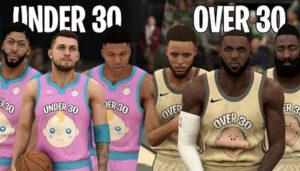 NBA – Les meilleurs joueurs de moins de 30 ans vs. ceux de plus de 30 ans : qui gagne ?