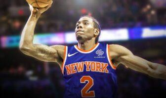 Kawhi Leonard aux Knicks
