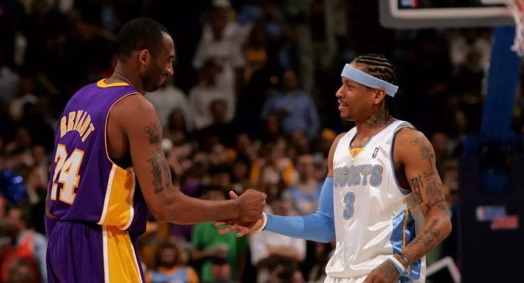 Kobe Bryant et Allen Iverson
