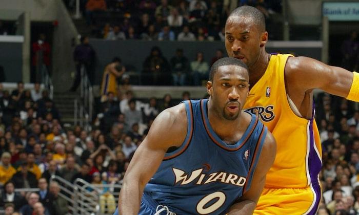Kobe défend sur gilbert arenas
