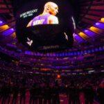 NBA – La salle des Knicks se met aux couleurs des Lakers