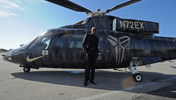 Pourquoi Kobe Bryant possédait un hélicoptère