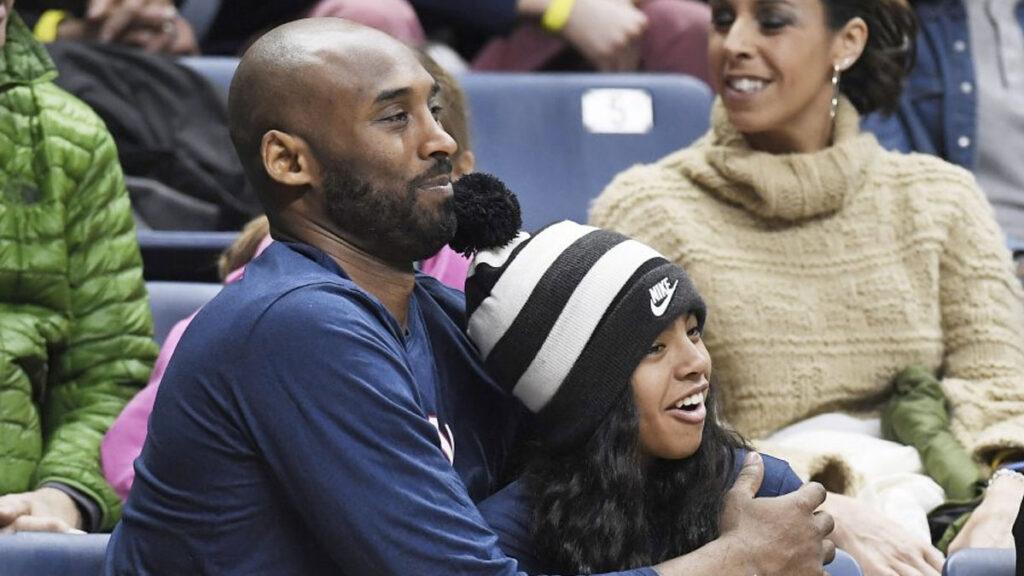 Kobe Bryant et sa fille Gianna