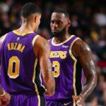 NBA – LeBron embarrassé par un gros troll sur Kuzma