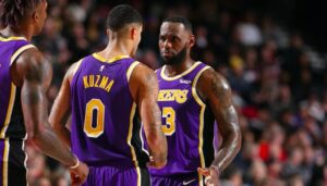 NBA – Comment LeBron et Davis ont influé sur l'extension de Kuzma