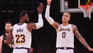 NBA – LeBron encense Kyle Kuzma après son gros carton