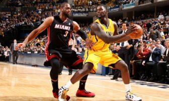 Dwyane Wade commente embrouille lors de Heat-Pacers