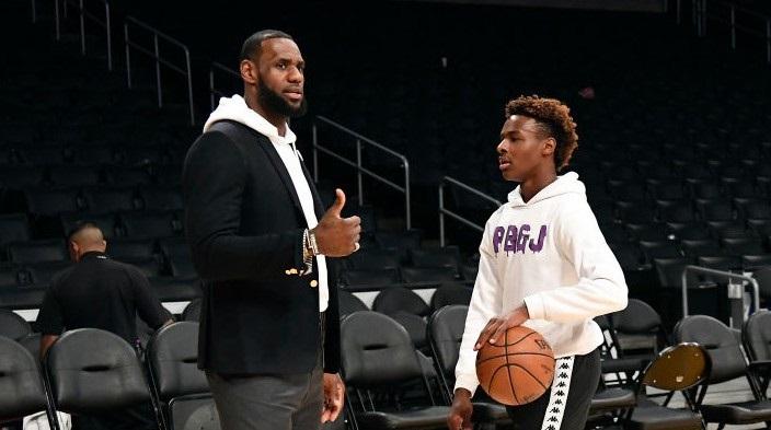 LeBron et Bronny aux Knicks un jour ? Le King calme un journaliste