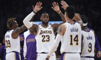 Danny Green proclame les Lakers équipe des États-Unis
