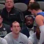 NBA – Pourquoi Luka Doncic a checké le banc des Hornets hier
