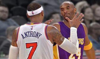 Carmelo Anthony dépasse Kobe Bryant pour le plus grand nombre de tirs clutchs en 20 ans