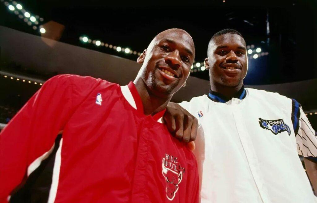 Michael Jordan et Shaquille O'Neal