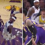 NBA – JaVale McGee lâche un contre surpuissant sur une énorme tentative de poster