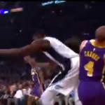 NBA – Alex Caruso blessé après un choc