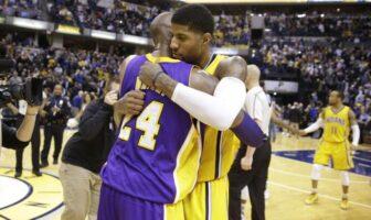 Paul George veut honorer Kobe Bryant à sa façon