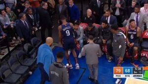 NBA – Inquiétude pour RJ Barrett